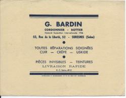Buvard/Chaussures/Cordonnier-Bottier/G. BARDIN/ SURESNES/Seine/Vers 1950    BUV243 - Chaussures