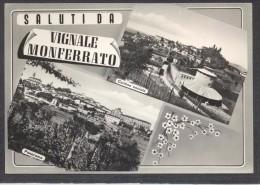 7201-SALUTI DA VIGNALE MONFERRATO(ALESSANDRIA)-FG - Saluti Da.../ Gruss Aus...