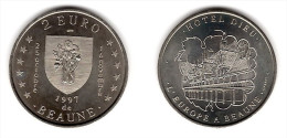 2 Euro Temporaire Precurseur De BEAUNE  1997, RRRRR, Gute Erhaltung, NI, Nr. 94 - Euro Der Städte