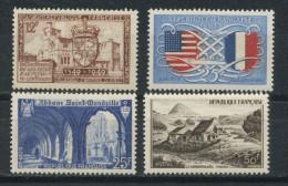 FRANCE-  DIVERS- N° Yvert  839+840+842+843** - Unused Stamps
