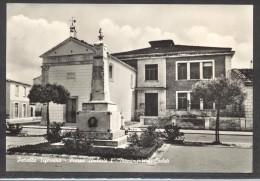 7213-PETRELLA TIFERNINA(CAMPOBASSO)-PIAZZA UMBERTO I°-MONUMENTO AI CADUTI-FG - Campobasso