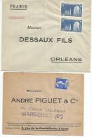 LOT DE 6 ENVELOPPES REPONSES, ANCETRES DES PAP REPONSES. - France