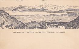 Panorama De La Faucille - Hotel De La Couronne , Switzerland , 1890s - Non Classificati