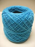 PELOTE Fil Bleu Turquoise COTON 3S - Laine