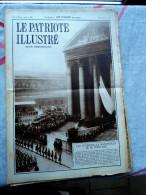 Le Patriote Illustré N°43 Du 28/10/1934 Bruxelles Madou Doel Paris Poincaré Buenos Aires Belgrade Yougoslavie Hull - Old Paper