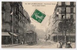 S1593 @ 92 @ ISSY LES MOULINEAUX @ BELLE CPA : RUE ERNEST RENAN @ A VOIR - Issy Les Moulineaux