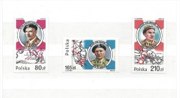 "Série De 3 Timbres - POLOGNE De 1989 (Polska) - "" Polish Troops In World War IIl"" - Neuf  - Voir Scan - Unused Stamps"