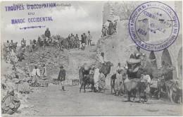 SAFFI - Mur De Chabah - Campagne Du Riff Au MAROC - TRES BELLE ANIMATION  @@ RARE  @@ - Maroc