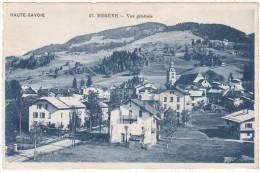 HAUTE-SAVOIE        57.  MEGEVE   -  Vue  Générale - Megève