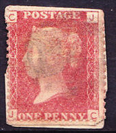 Great Britain GB - Queen Victoria - 1 One Penny Red - On Piece / Fragment - 1840-1901 (Viktoria)