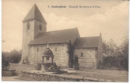 OUDERGEM (1160) AUDERGHEM Chapelle Ste Anne Et Le Puits - Auderghem - Oudergem