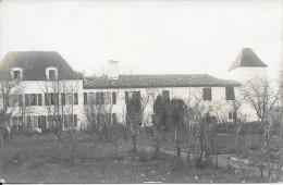 CARTE PHOTO A IDENTIFIER  -    Un Chateau ou Maison Bourgeoise ? - Edit DUVAU � Colombes - VAN -