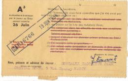 FOOTBALL-FC Nancy 1954 Contrat Autographe Juan GONZALEZ TACORONTE Acceptant Sa Mutation Signé Président Club - Autographs