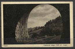 "Ukraine, Tunnel Near Uzsok With Special Railroad Canc.:""Sianki-Ungvár"", 1939. - Ukraine"