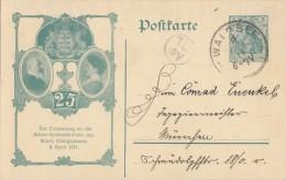DR Privat-Ganzsache Minr. PP27 C124/01 Gelaufen - Deutschland