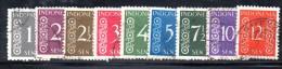 W3156 - INDONESIA 1948 , Serie Yvert N. 343/351 Usata - Indonesia