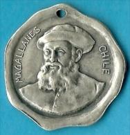 2279 Vz Magallanes Chile - Kz Libertad 1810-1910 - Tokens & Medals