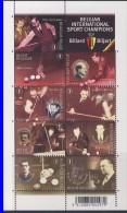 BELGIQUE 2007 FEUILLET BILLARD YVERT N°3708/16 NEUF MNH** - Belgium