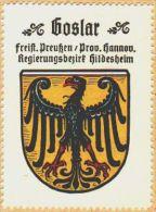 Werbemarke (Reklamemarke, Siegelmarke) Kaffee Hag : Wappen Von Goslar - Tea & Coffee Manufacturers