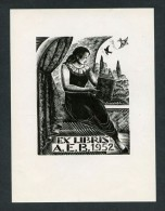 Lote 5 Ex Libris Diferentes. Varios Artistas. Varios Propietarios. Diferentes Medidas. - Ex Libris