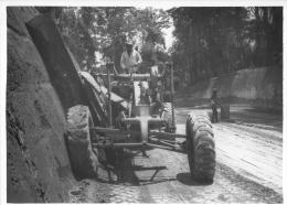 PHOTO ORIGINALE  18 X 13 CM CONSTRUCTION AUTOROUTE  CERTAINEMENT ESPAGNE - Other