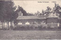 Stockay St-Georges - L'Eglise (petite Animation, Th. Tricnon) - Saint-Georges-sur-Meuse