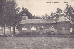 Stockay St-Georges - L'Eglise (petite Animation, Th. Tricnon)