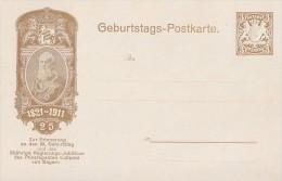 Bayern Privatganzsache Minr.PP11 Geburtstags-Postkarte Postfrisch - Bayern