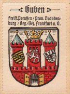 Werbemarke (Reklamemarke, Siegelmarke) Kaffee Hag : Wappen Von Guben - Tea & Coffee Manufacturers