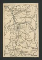 Argenton, Cuzion, Badecon, Eguzon, Fresselines, Malicornay, Bouesse, Tendu, Baraize,,  Edition :  1924 . - Geographical Maps