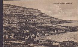 Faroe Islands PPC Porkere, Suderö, Færøerne Brevkort A. Brend Eneret 304265 (2 Scans) - Färöer