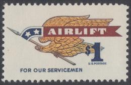 !a! USA Sc# 1341 MNH SINGLE - Airlift - Etats-Unis