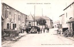 Aillianville:La Grande Rue. - France