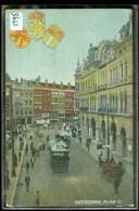ROTTERDAM * PLAN C * TRAM  * ANSICHTKAART * POSTCARD * CPA * GELOPEN IN 1906 Naar BERG-AMBACHT (3653) - Rotterdam