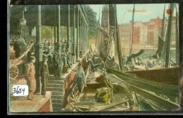 ROTTERDAM * VISCHMARKT * ANSICHTKAART * POSTCARD * CPA * GELOPEN IN 1910 Naar VINKEVEEN (3654) - Rotterdam