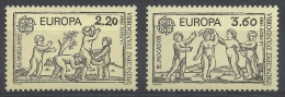 Andorra (French Adm.), EUROPA, Children Games, 1989, MNH VF - Unused Stamps