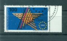 Allemagne -Germany 1992 - Michel N. 1644 - Marché Unique - Gebraucht