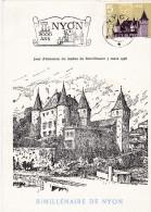 FDC 1958 Bimillénaire De Nyon - Schweiz