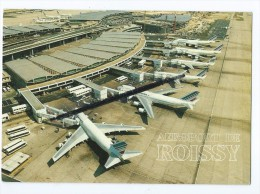 CPM - Aéroport DeRoissy- L´aérogare 2 - Aéroport Charles De Gaulle - Avion - Aéroports De Paris