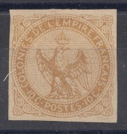 France Colonies General Issues 1859 Yvert#3 MNG
