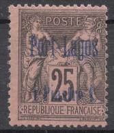 Port-Lagos 1893 Yvert#4 Mint Hinged - Unused Stamps