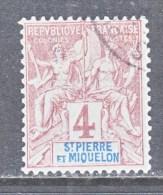Saint-Pierre And Miquelon  62    (o) - St.Pierre & Miquelon