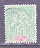 Saint-Pierre And Miquelon  64    (o) - St.Pierre & Miquelon