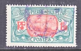 Saint-Pierre And Miquelon  105    (o) - St.Pierre & Miquelon