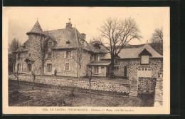 CPA Marmanhac, Château Du Fau - Frankrijk