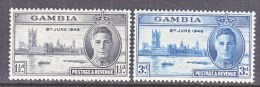 GAMBIA  144-5   *     PEACE - Gambia (...-1964)
