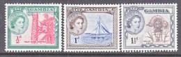 GAMBIA  153-5   *     QE  II - Gambia (...-1964)