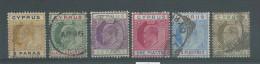150021949  CHIPRE  YVERT  Nº  44/46/47/48/49/51 - Zypern (...-1960)