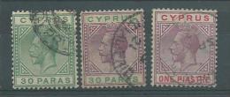 150021950  CHIPRE  YVERT  Nº  69/70/72 - Zypern (...-1960)