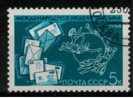*A12* - Russia &  URSS 1988 - Settimana Internazionale Della Lettera - 1 Val. Oblit. - Bello - 1923-1991 URSS